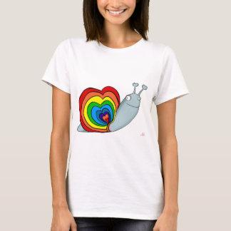 RAINBOW SNAIL AVAL T-Shirt