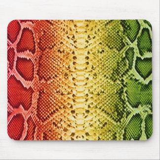 Rainbow Snakeskin Mouse Pad