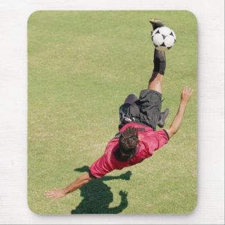 rainbow soccer mouse mat