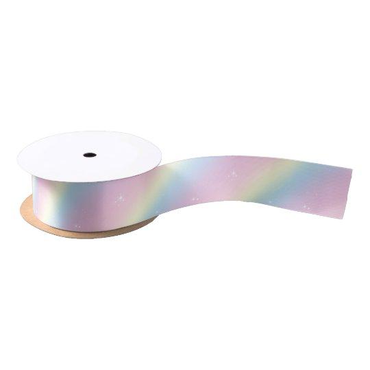 Rainbow Sparkle Dreams Ribbon Satin Ribbon