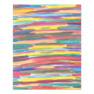 Rainbow Spectrum Abstract Art Print