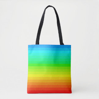 Rainbow Spectrum Colors PRIDE LGBT Beach Bag