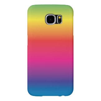 Rainbow Spectrum Prism Image Template Samsung Galaxy S6 Cases