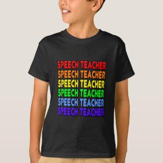 Rainbow Speech Teacher T-Shirt