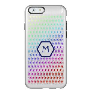 Rainbow spiders monogram iphone 6/6s Personalised Incipio Feather® Shine iPhone 6 Case