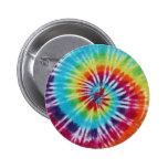 Rainbow Spiral Buttons