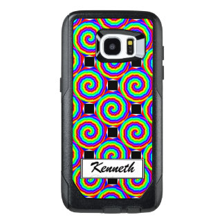 Rainbow Spiral by Kenneth Yoncich OtterBox Samsung Galaxy S7 Edge Case