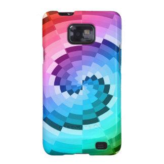 Rainbow Spiral Samsung Galaxy SII Case