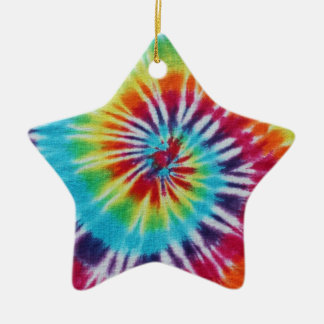 Rainbow Spiral Christmas Ornament