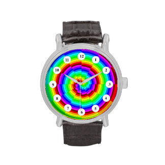 Rainbow Spiral (Classic Face) Watch