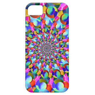Rainbow Spiral Fractal Art iPhone 5 Covers
