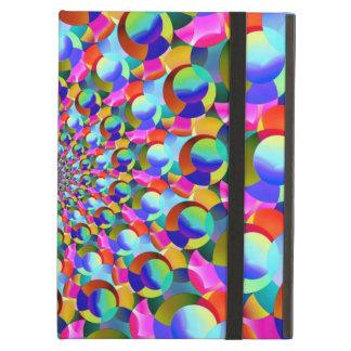 Rainbow Spiral Fractal Art iPad Air Case