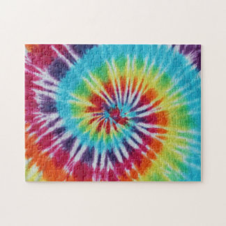 Rainbow Spiral Jigsaw Puzzle