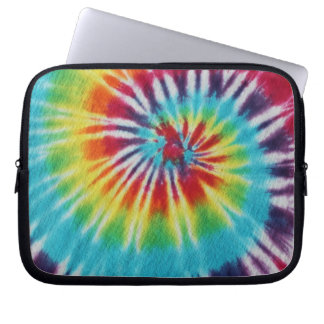 Rainbow Spiral Laptop Sleeve
