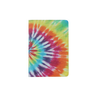 Rainbow Spiral Passport Holder