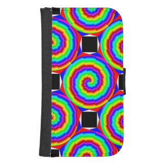 Rainbow Spiral Phone Wallets