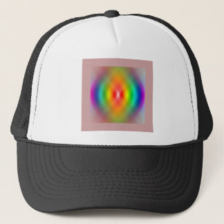 rainbow Spiral Trucker Hat