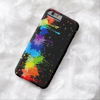 Rainbow Splash With Butterflies iPhone 6 Case