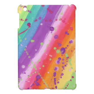 Rainbow Splatter iPad Mini Covers