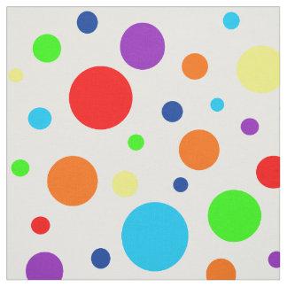 Rainbow Spots Fabric