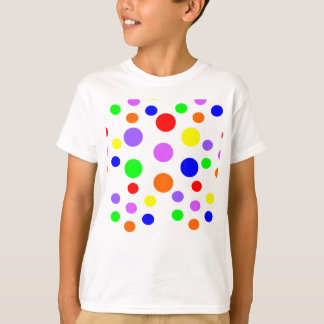 Rainbow Spots Kids T Shirt