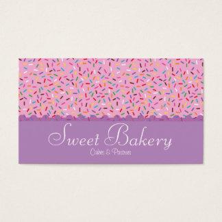 Rainbow Sprinkles Bakery Business Card