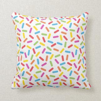 Rainbow Sprinkles Cushion