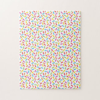 Rainbow Sprinkles Jigsaw Puzzle