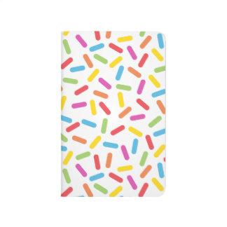 Rainbow Sprinkles Journal