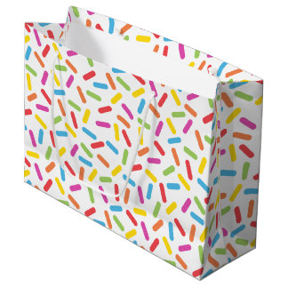 Rainbow Sprinkles Large Gift Bag