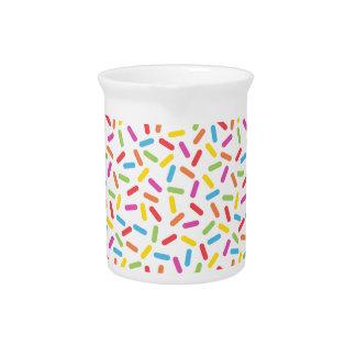 Rainbow Sprinkles Pitcher