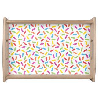 Rainbow Sprinkles Serving Tray