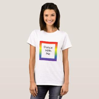 Rainbow Square Dance w/ Me T-Shirt
