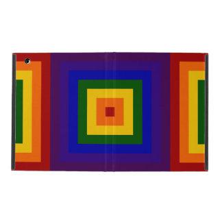 Rainbow Squares iPad Cover