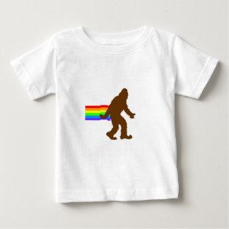 Rainbow Squatch Baby T-Shirt