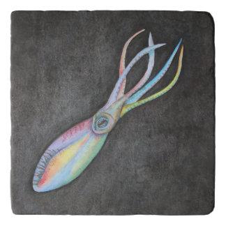 Rainbow Squid Trivet