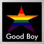 Rainbow Star Award Posters