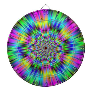 Rainbow Star Dartboard