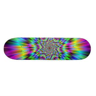 Rainbow Star Skateboard