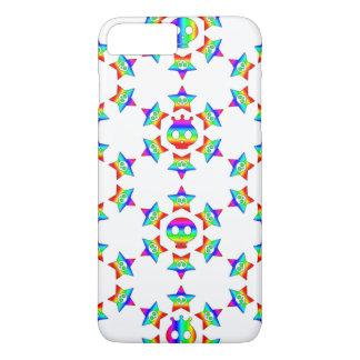 Rainbow Star Skulls iPhone 7 Plus Case