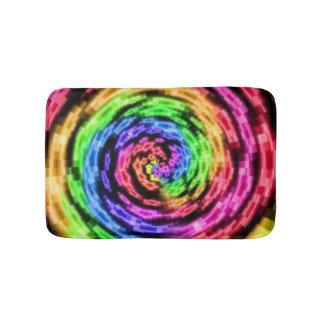 Rainbow Star Vortex Bath Mat