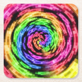 Rainbow Star Vortex Coaster