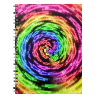 Rainbow Star Vortex notebook