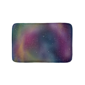 Rainbow Starfield Bath Mat