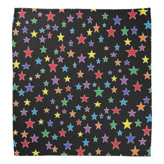 Rainbow Starry Starry Night Bandana