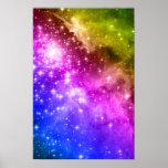 Rainbow Stars Posters