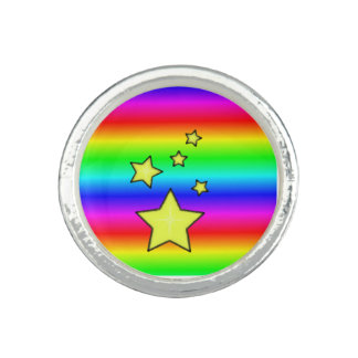 Rainbow Stars Ring