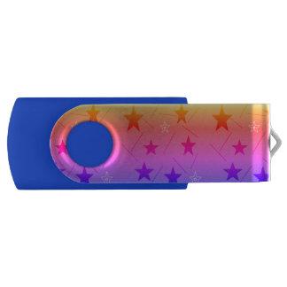 rainbow stars USB stick by DAL Flash Drive