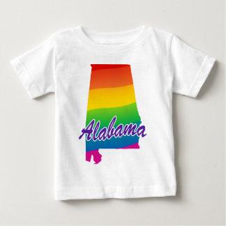 Rainbow State Of Alabama Tee Shirt