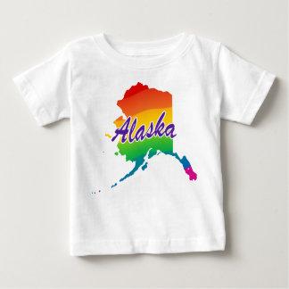 Rainbow State Of Alaska Tshirts
